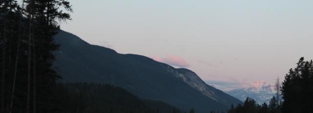 sunrise rockies